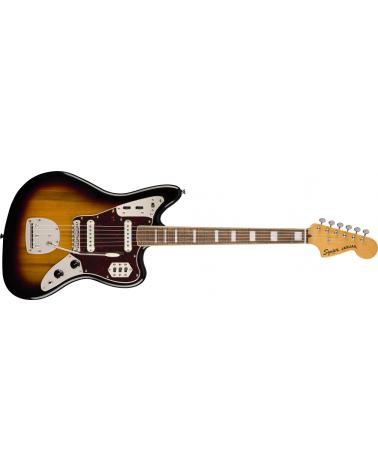 Squier Classic Vibe '70s Jaguar, Laurel Fingerboard, 3-Color Sunburst