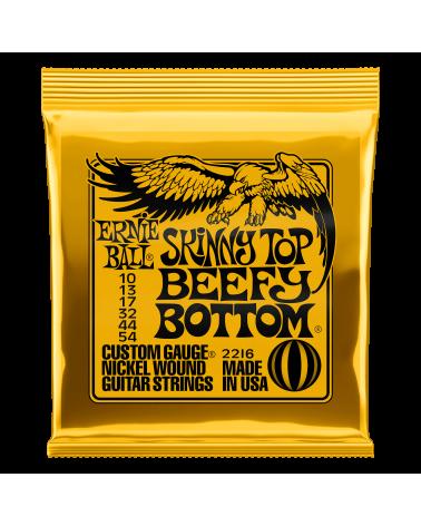 Ernie Ball Skinny Top Beefy Bottom Slinky Guitar Strings 10-54 2216