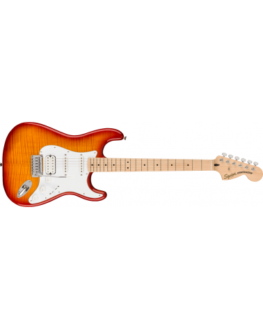 Squier Affinity Series Stratocaster FMT HSS, Maple Fingerboard, White