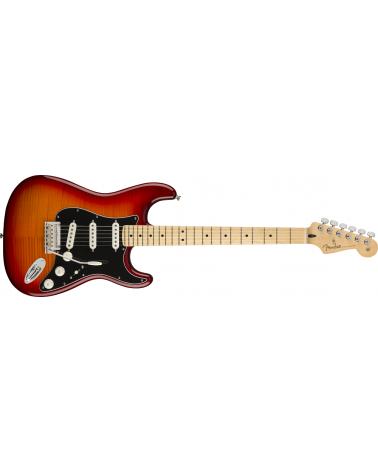 Fender Player Stratocaster Plus Top, Maple Fingerboard, Aged Cherry Burst